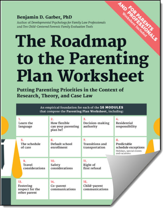 Roadmap to the Parenting Plan Workbook